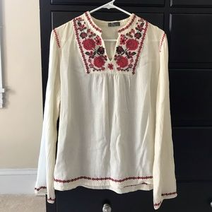Free People Cross Stitch Top, Size 4
